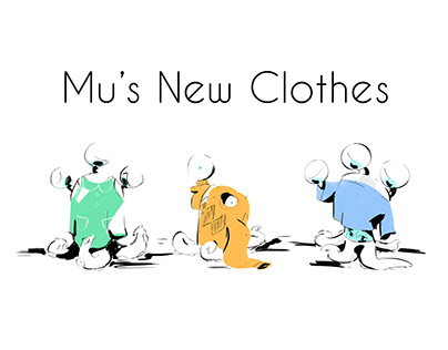 Mu's New Clothes Illustrations