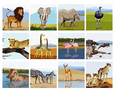 12 LIFE LESSONS LEARN FROM AFRICAN WILD ANIMALS