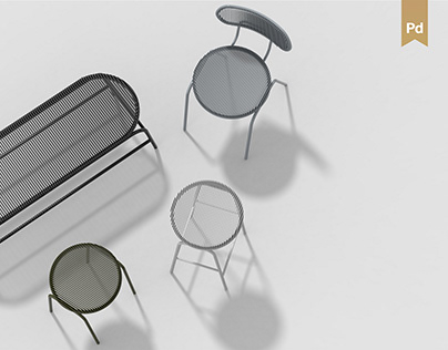 Linear: Indoor-Outdoor Furniture family