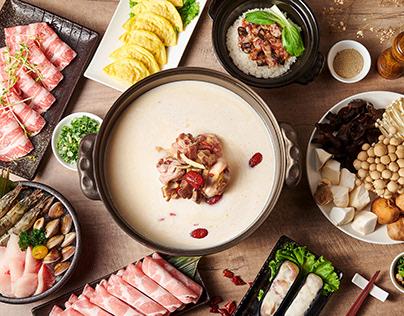 美食攝影:粵式豬肚煲鍋