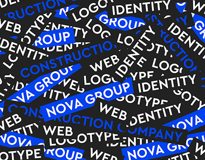 Nova Group. Brand identity design