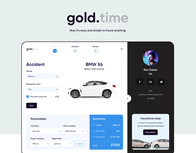 Web Application – Gold.Time