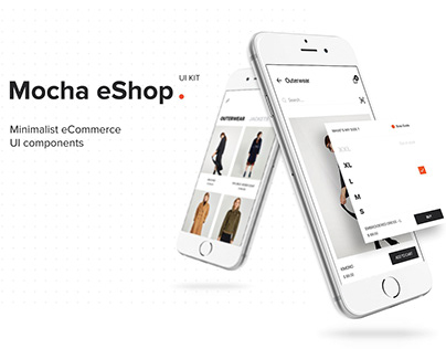 Trafter_eShop Mobile App UI Kit