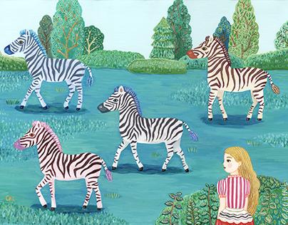 Zebra garden