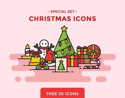 FREE - CHRISTMAS ICONS