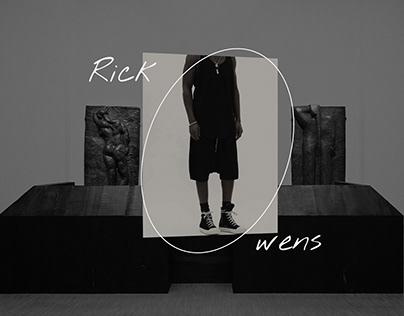 Rick Owens Ramones Landing