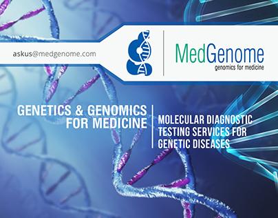 Med Genome - genomics for medicine