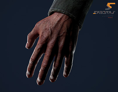 FPP Hands of Janek Character Art for Sabotaj Game