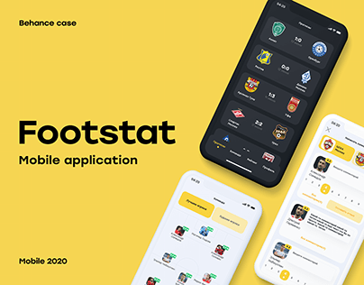 Footstat - sport mobile application