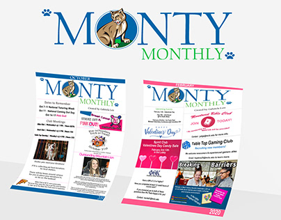 Monty Monthly Newsletters