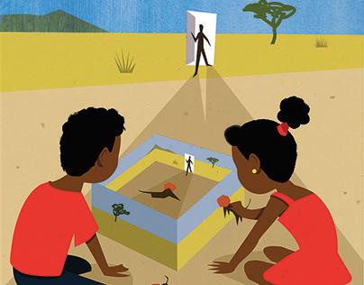 The Veldt : Cover Illustration