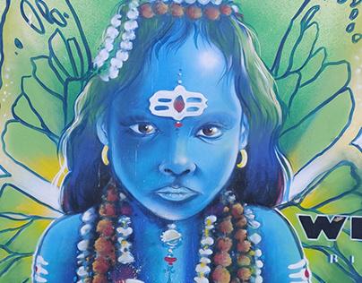 Paintings in India - Rishikesh Wall Paint