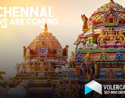 Volercars Pre Launch Creative for Chennai