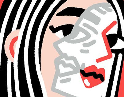 Two-faced – Illustration