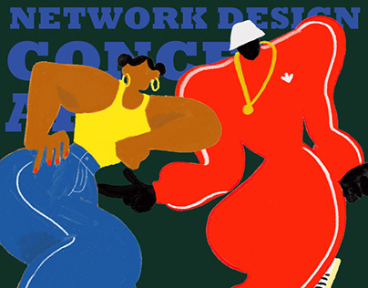 Network Design Concept Art