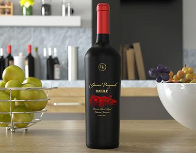 Gervasi Wine Bottle