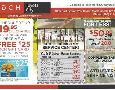 Postcards - DCH Toyota City
