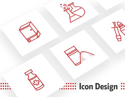Icon Illustration & UI Design