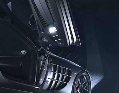 Mercedes Mclaren SLR 722