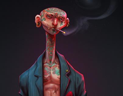 Katsurou, The Mafia