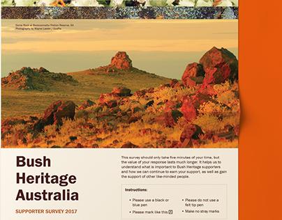 Bush Heritage Australia Supporter Survey