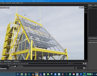 Autodesk tower Nvidia Omniverse