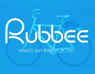 Rubbee webdesign (makes any bike electric)