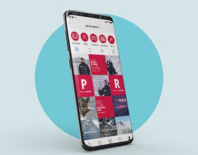 Lanjarón - Social Media Design