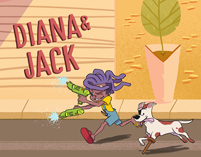 Diana & Jack / Character and Background design