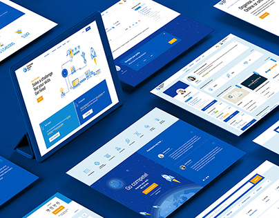 ChallengeRocket.com - Branding & web design