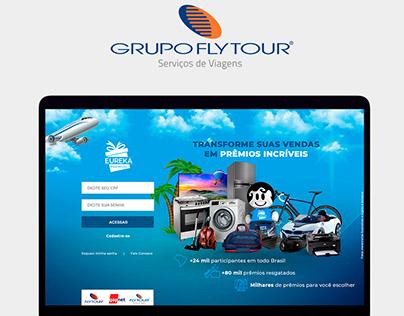 Criação do programa de incentivo e fidelidade Flytour