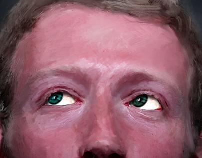 Zuckerberg illo for The Intercept