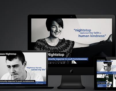 Sussex Nightstop Brand/Identity