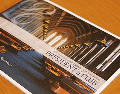 University of Washington President's Club brochure