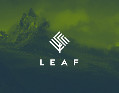 Leaf / visual style for climbers equpiment