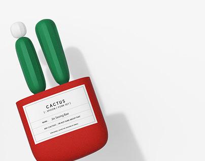 Cactus/ Cutlery set