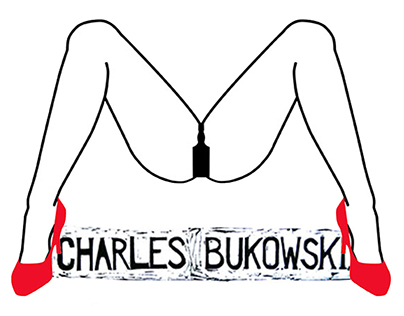 covers of Bukowski's novels
