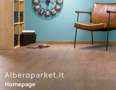 Alberoparket.lt - Responsive web design