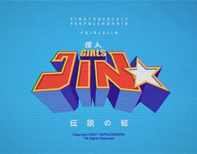 Girls Jin - Inktober 2017