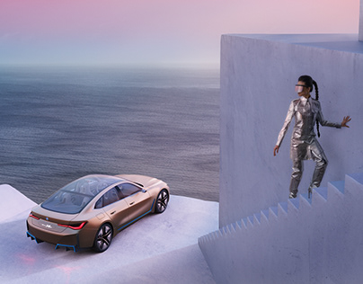 BMW i4 with Clemens Ascher