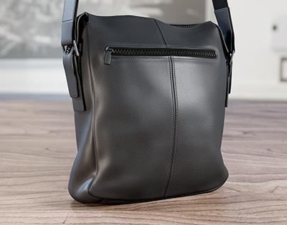 Realistic 3D model of Men's Bag