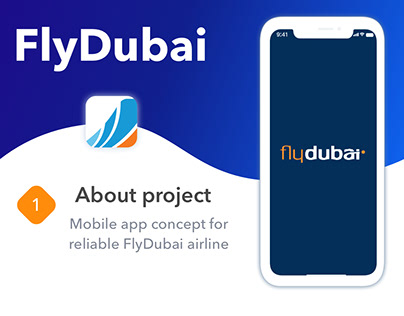 Redesign for FlyDubai app