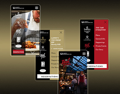 Lawry's as an Elevated Digital Experience