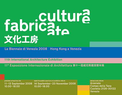 Culture Fabricate: Hong Kong in Venice