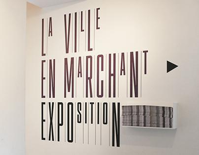 """""""La ville en marchant"""", exhibition"""
