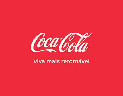 Natal Coca Cola - Viva mais retornável