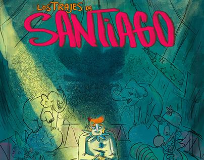 Los trajes de Santiago -Historieta