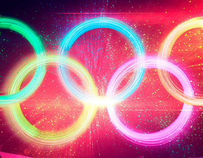 🇧🇷 Explosion of Pixels Olympic Rings [Tutorial]