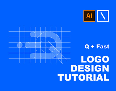 Q + Fast Logo Design Tutorial in Adobe Illustrator