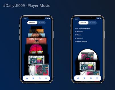 Daily UI : 009- Music Player